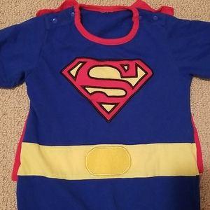 Superman Onsie Romper